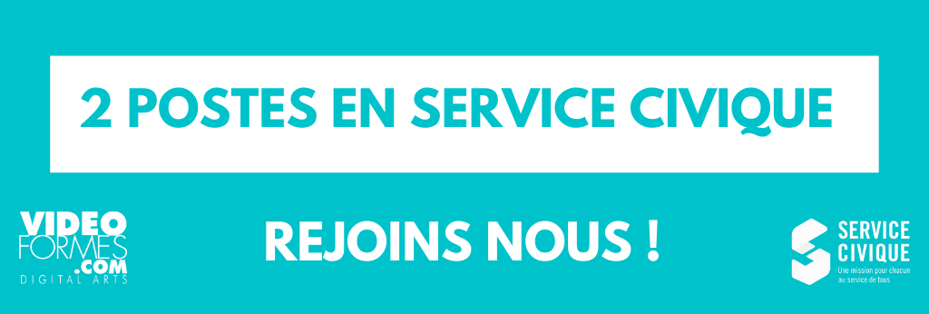 Recrutement : 2 POSTES DE SERVICE CIVIQUE !